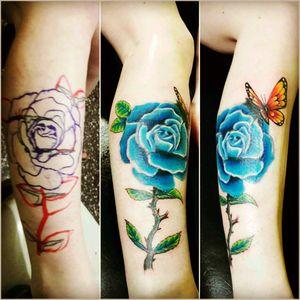 #mauromilan#tattoflor