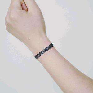 By #tattooistdoy #armband #bracelet #blackwork