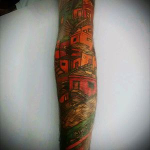 Morro da Mangueira Brasil , minha futura morada. #samba #tattoofavela #tattoocomunity