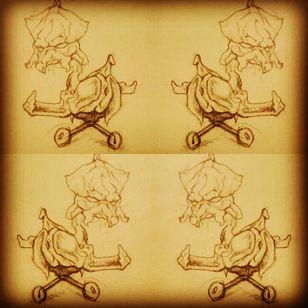Tattoo design #tattooflash #flashart #sketch #ciearakendall