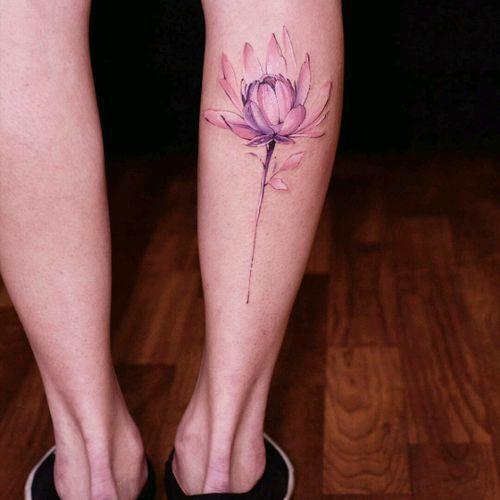 By #DianaSeverinenko #watercolor #flower #floral #watercolortattoo #botanical