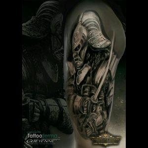Samurái Ronin. Warrior #warrior #Ronin #sumurai #cheyennetattooequipment #tattoospain #tenerife #canaryisland