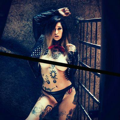 #Jacqueline #suicide #rock #modelo #brazil