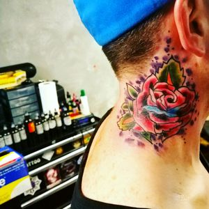 #rose #necktattoos
