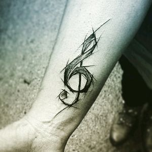 I want it #music #gclef #ink #love