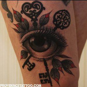 #keys #eye #leafs