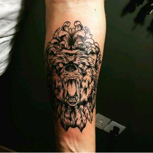#beartattoo @Tattoo_Records