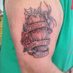 My Television show Tattooed on my arm.