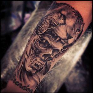 #NashyGunz #Realism #Portrait #Aztec #Warrior #Jaguar #Skull