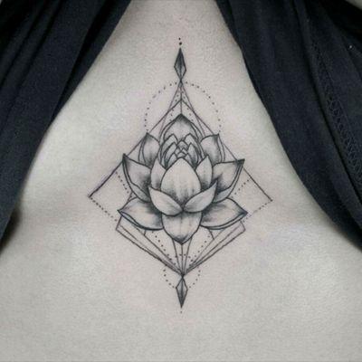 Lotus flower, #lotusflower #mandalatattoo #tat