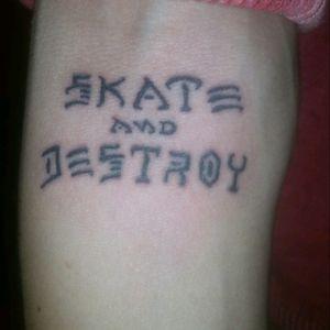 #skate #skateanddestroy