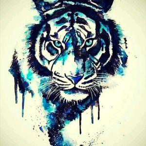 #vorlage #dreamtattoo #tattoo #tattoos #tattooedmann #followme #follower #mindblowing #mone1971 #tiger #watercolour #skitze #tigerkopf