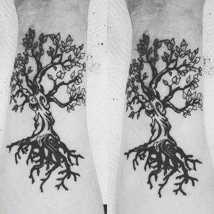 #tree #blackandgreytattoos