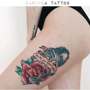 R2D2 from Star Wars (healed) Instagram: @karincatattoo #starwars #r2d2 #starwarstattoo  #starwarsfan #starwarstattoos #legtattoo #bigtattoo #colortattoo #colorfultattoo #girltattoo #tattedgirl #tattooedgirls #tattoomodel #tattooartist #ink