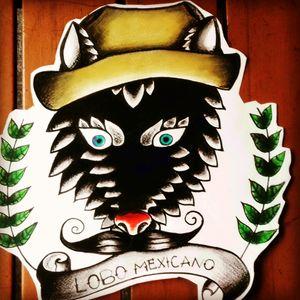 """""""Lobo mexicano"""""""