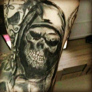 #sleeve ##mone1971 #tattoo #tattoos #tattooedmann #followme #follower #follow #followforfollow #blackgrey #artist #dreamtattoo #mindblowing #mone1971 #blackandgrey #schädel