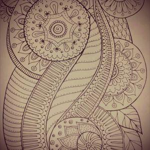 #ornamnent #mandala #skitze #vorlage #dreamtattoo #mindblowing #mone1971 #tattoo #tattoos #follower #follow #followforfollow #artist #tattoovorlage #solingen #skitze