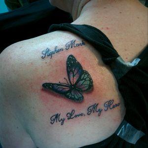 #butterfly #tattoo #butterflytattoo #nofiltertattoo #nofilter #fullcolor