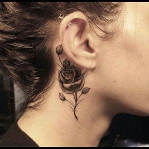 #rose #Black #thorn