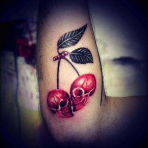 #cherry #human #red