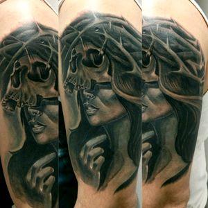 #coveruptattoo #worldfamousink #turaniumtattoomachine #hustlebutterdeluxe #tattoo