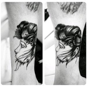 #portaltattooplace #portal #galvani #tattoo #vampira #selftattoo