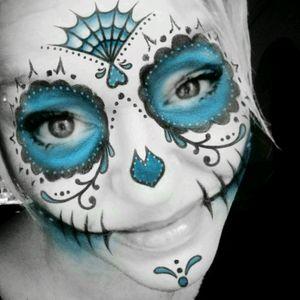 #maske #spass #mexiko #lacathrina #tattoos #tattooedgirl #tattooedwoman #inked #mone1971 #dreamtattoo #mindblowing #mone1971 #follower #follow #followforfollow 9