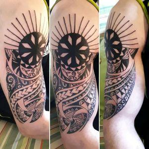 Tattoo Azteca #tatto #ink #blacktattoo #inklover #inkboy