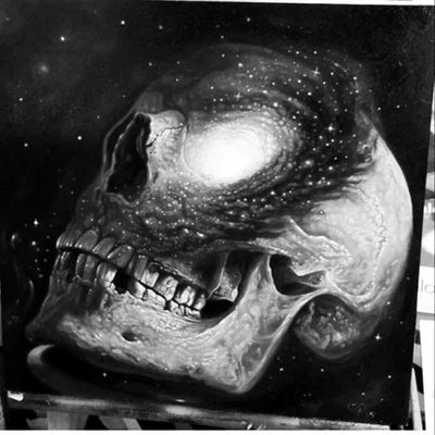 #galaxy #skull #universe #musthave