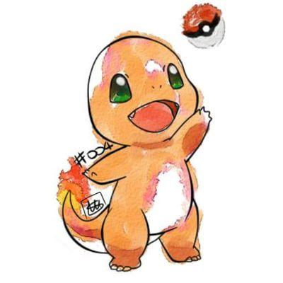 charmander #pokemon #charmander #evolution #pokemontattoo #tattoo #cute #drawing #digital #digitalart #lineart #watercolor #colors #nintendo #anime #games #gameboy #manga #cartoons #passion #instatattoo #pokemongo #instacolor #drawingoftheday