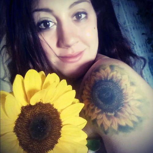 #sunflowertattoo #sunflower #sicily #italy #italytattoo #realistic