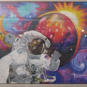 #myart #femaletattooartist #astronaut #followme #aleighainkmastart