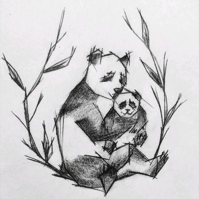 #Panda#Tattoo