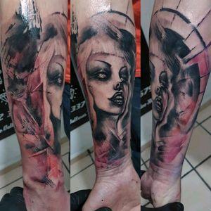 Trash....  #cheyennetattooequipment #tattooink #tattooartist #tattoo #tattoocomunity #skinartmag #tattoostyle #inked #tattooart #tatuadoresdevenezuela #tattoosofinstagram #tattooworked #blackandgreytattoos #followme