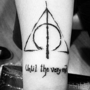 Harry Potter tattoo #harrypotter