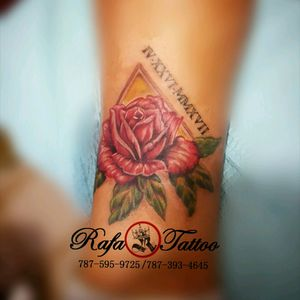 #rafatattoo #fullcolor #rose #worldfamoustattooink #akashacartriges