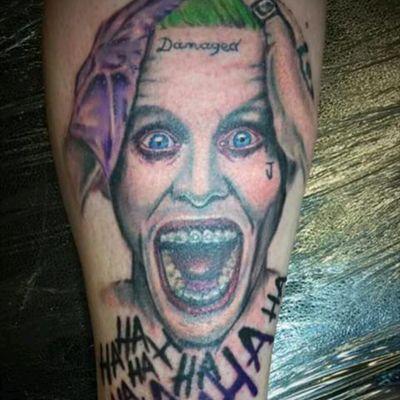 #JaredLeto #Joker #SuicideSquad #Damaged