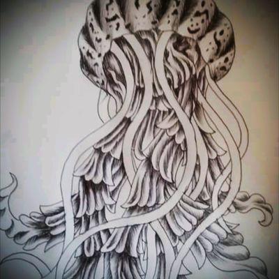 Jellyfish cover-up idea #jellyfish