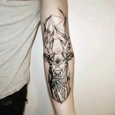 #deer #blackwork #animal #sketchstyle