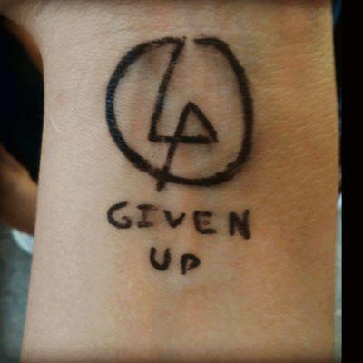 #LinkinPark #Rock #Tattoo #GivenUp