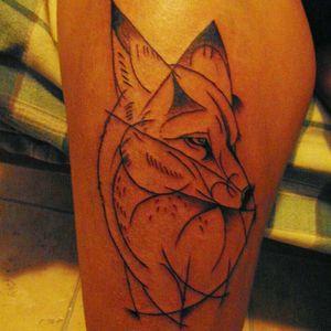 Fox #tatto #ink #inked #blackwork