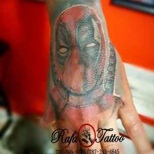 #rafatattoo #Deadpool #redo #worldfamoustattooink