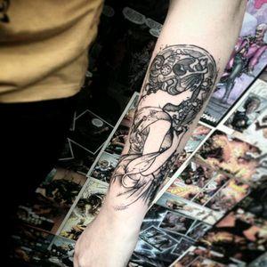 #BrianSantula #muchatattoo #tattooink #Mucha