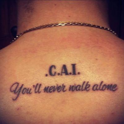 Club Atlético Independiente #Football #Argentina #Independiente #tattoo #firstattoo