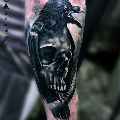#skull2017 #tattoodoapp #blackwork #scull #sculltattoo #scullandraven #raven #raventattoo #blackandgrey #tattoo #tattoodo #tattooes #ink #sculls #scull #sculls #sculltattoo #dead #black #blackink #tattoo #Tattoodo #colorful #colortattoo #colorrealism #realistic #realism #dreamtattoo #inked #art #tattooart #ink #epic #skull #skull2016 #skul #skulladdict #SkullAgain #skullandbones #skullandfire #skullart #skullpiece #inked #tattooed #tattoos #megandreamtattoo #finework #brasil #best #perfect #bestskullever #skullcollector #skullhead #skulltattoo #skull