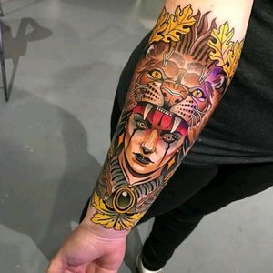 By Johnny Domus #tattoodo #TattoodoApp #tattoodoBR #tatuagem #tattoo #neotrad #neotraditional #colorida #colorful #JohnnyDomus