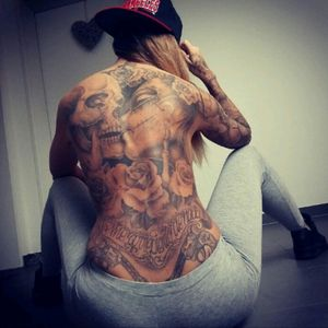 @ina_inked #Chicano #Tattoodobabes #Tattooedgirl #Inkedgirl #GirlwithTattoos