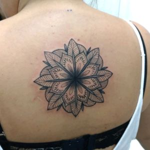 Mandala. #mandala #mandalatattoo #blackandgrey #geometrictattoo