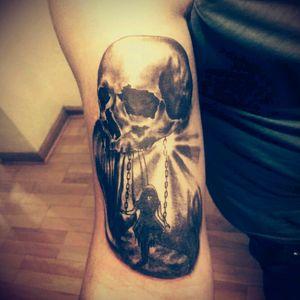 #darktattoo #tattooskull