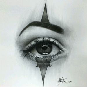 #PedroMedina #Clow #Eye #Chicano #Drawing #Pen #Art #Realism
